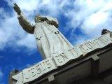 Statue of Christ high above San Juan del Sur