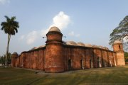The Sixty Dome Mosque UNESCO World Heritage Site in Bangladesh