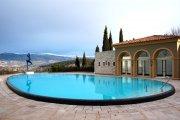 The pool, Le Mas Candille