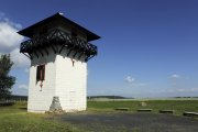 The reconstructed Roman watchtower at Idstein