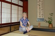 Karen Bowerman inside Samurai House