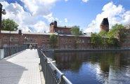 Bridge over the river Copyright City of Tampere Sami Helenius
