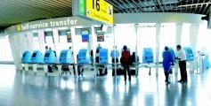 Schiphol self-service transfer area