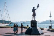 Catie Funk Travels Marmaris Turkey City Statue