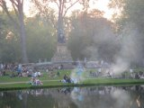 Vondel Park barbecues1