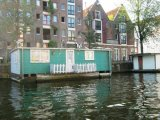 Canal cruise houseboat