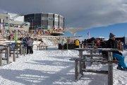 Enjoying apre ski