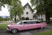 Interlaken pink cadillac