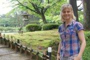 Karen Bowerman at Kenrokuen Garden, Kanazawa