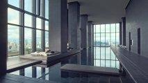 Pool at the Aman Hotel, Tokyo