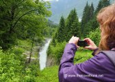 Green land of the Soca valley