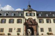 The palace at Bad Homburg close to the Limes Road