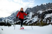 snow shoe tour from Arthurhaus hotel