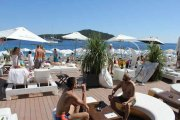Banje Beach East West Beach Bar Dubrovnk Croatia Gems Ltd