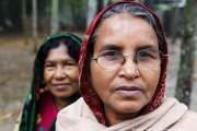 2 Woman in Bangladesh village
