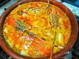 Rice Seafood Stew Arroz Caldo de marisco