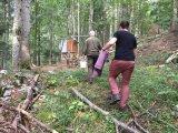 Mlakar Bear Observation Cabin
