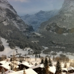 Sledging in Grindelwald, Switzerland