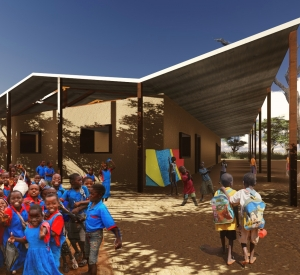 Manchester Students Join Mlambe Project to build Schools in Malawi, Africa