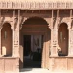 Fort door