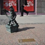 One of the Wroclaw dwarves -® Jo Caird