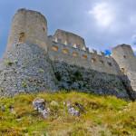Rocca Calascio side
