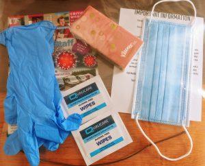 TravSafe PPE Pack Open
